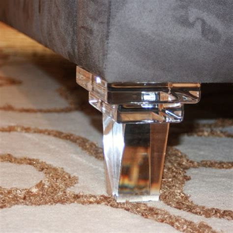 acrylic sofa legs acrylic sofa legs acrylic furniture feet coffee table legs