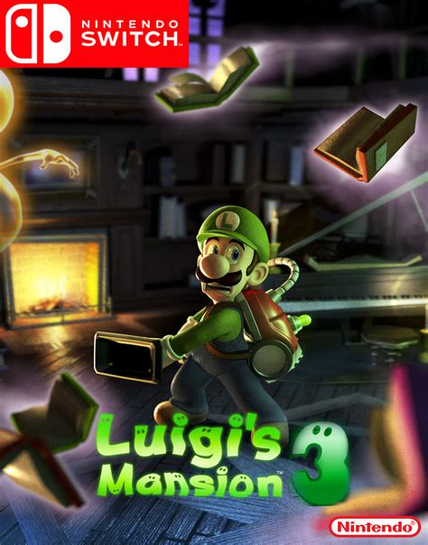luigis mansion  nintendo switch fantendo nintendo