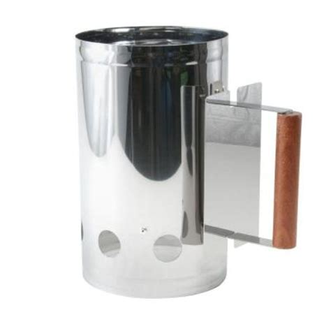 charcoal companion stainless chimney charcoal starter