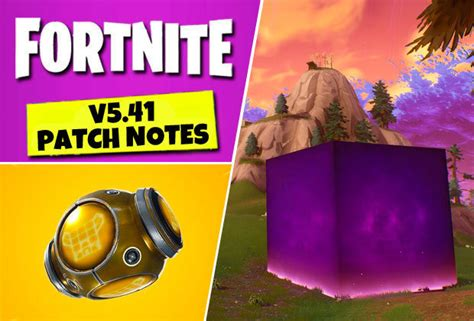 fortnite  patch notes update epic games add port
