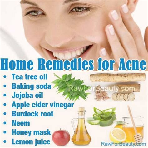 at home acne treatments care