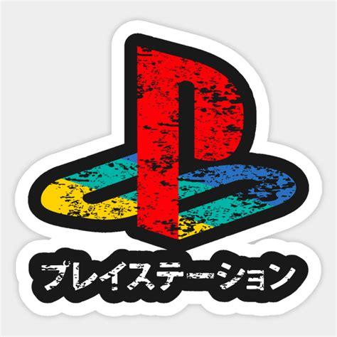 Hoodie Playstation Japan vintage ps logo playstation sticker teepublic