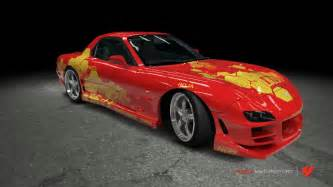mazda rx 7 2 fast 2 furious by outcastone on deviantart