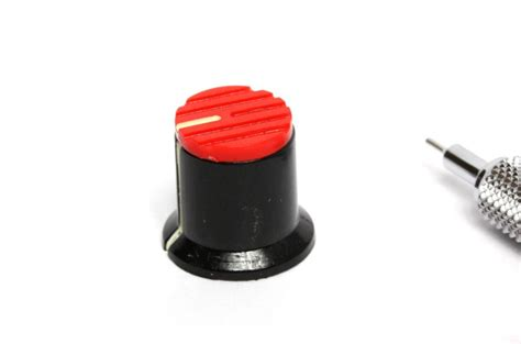 Knob Potentiometer by Laser Component Potentiometer Black Cap Knob
