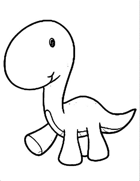 coloring pages of baby dinosaurs cartoon dinosaur coloring page coloring home