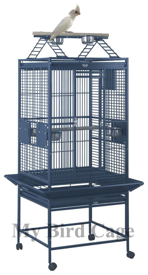 medium cage hq medium playtop parrot cage 24x22 by my bird cage