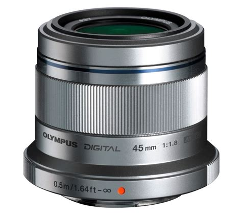 camara olympus lens olympus m zuiko digital 45 mm f 1 8 standard prime lens