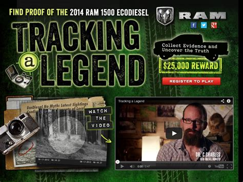 Ram Sweepstakes - ram trucks tracking a legend sweepstakes