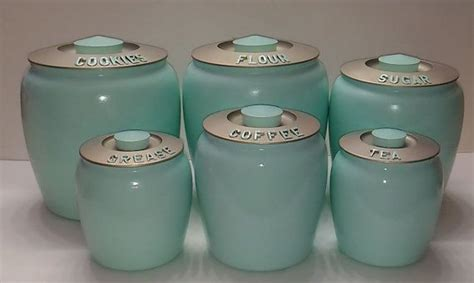 Green Canisters Kitchen 1000 Ideas About Canister Sets On Pinterest Canisters