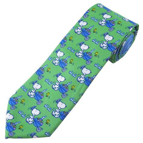 easter tie green peanuts easter tie