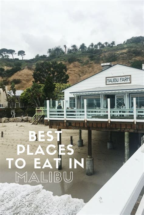Places To Eat On Pch - as 25 melhores ideias de malibu california no pinterest santa monica e santa monica