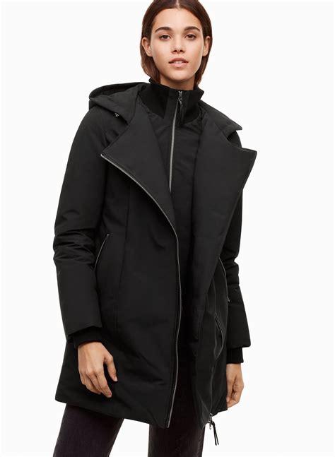 Ima Scarf mackage ima coat aritzia us