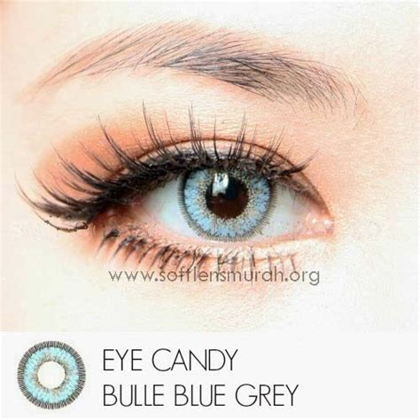 Original Softlens Eye Princess Blue Biru softlens eye bulle blue gray 15mm softlens murahsoftlens murah