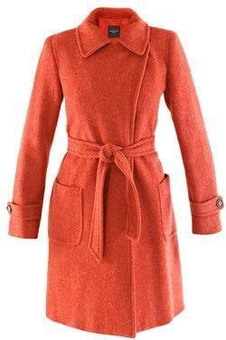 Ing Presents Imitate Neck Tie Look by Weekend By Maxmara Herringbone Coat 7 Exceptionally Chic