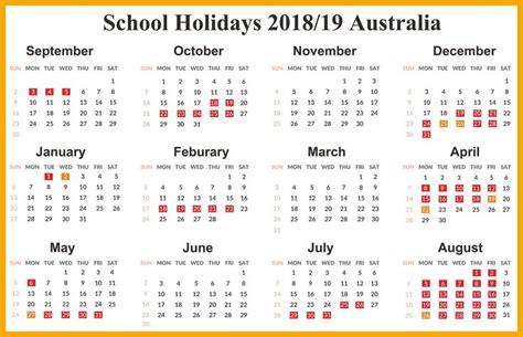australia  printable calendar  holidays festivals school holiday calendar