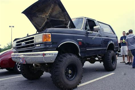 bronco car lifted 1989 ford bronco lift kit images