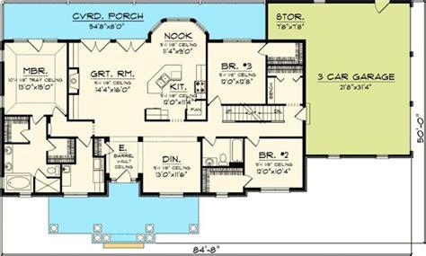 rambling ranch house plans 3 bedroom rambling ranch