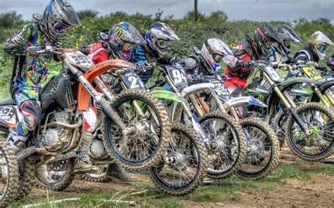 motocross racing bikes dirt bike racing wallpaper 34223