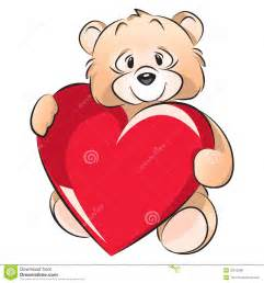 Bear valentines day card royalty free stock photos image 22972368
