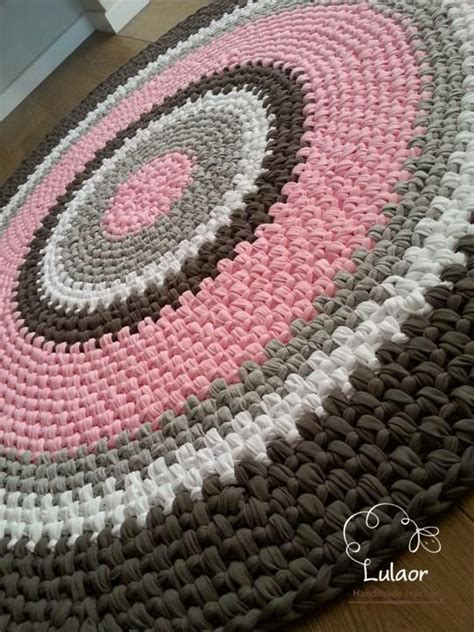 fabric yarn pattern crochet round rug fabric yarn round rug zpagetti yarn by