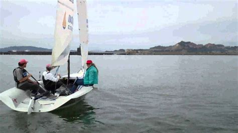 boat day ryc s sail a small boat day youtube