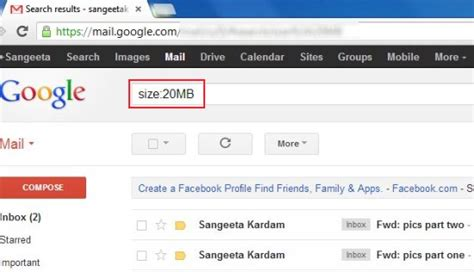 Search Emails In Gmail 4 Ways To Find Big Emails In Gmail
