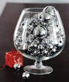 Silver Vase Fillers by Silver Bells As A Vase Filler