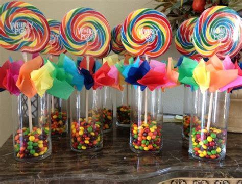 rainbow centerpiece kid ideas