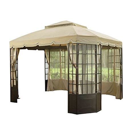 gazebo awning replacement garden winds riplock replacement canopy for the bay window