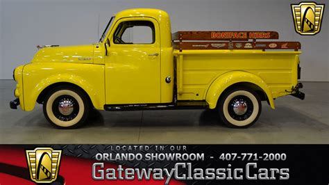 dodge b series 218 inline 6 1952 truck for sale