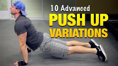 10 advanced push up variations weight workouts for
