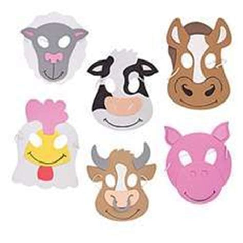 printable nativity animal masks our masks won t look this good because i didn t plan ahead