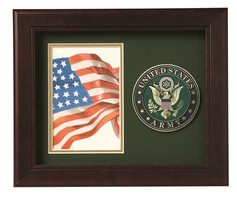 4 Inch Picture Frame by U S Army Medallion 4 Inch By 6 Inch Portrait Picture Frame
