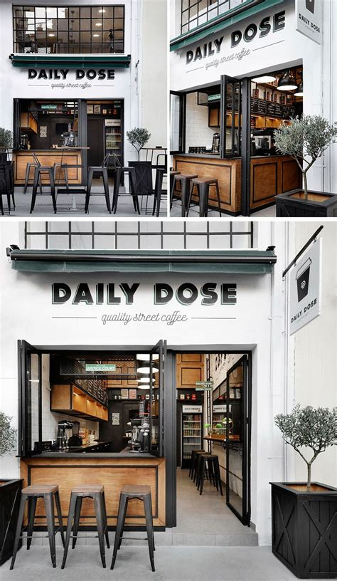 little coffee shop design andreas petropoulos has designed a small takeaway coffee