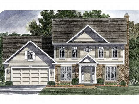Colonial Home Designs Plan 014h 0052 Find Unique House Plans Home Plans And