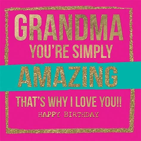 How To Make A Birthday Card For Grandmother Birthday Cards For Grandma Gangcraft Net