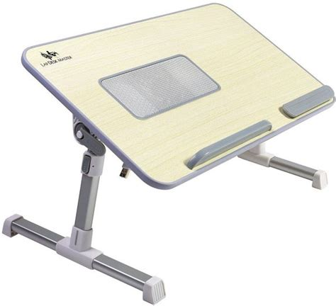 lap desk master adjustable laptop bed tray table