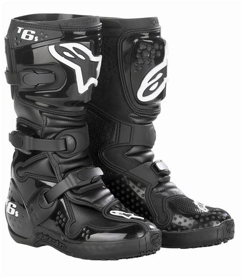 youth motocross boots clearance clearance alpinestars tech 6s youth mx boots black sc