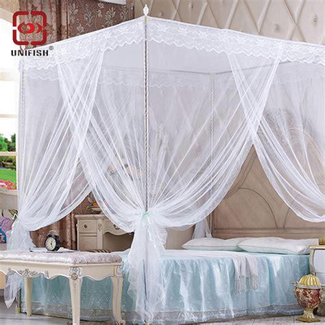 mosquito nets for bed aliexpress com buy 3 door 4 corner post bed canopy