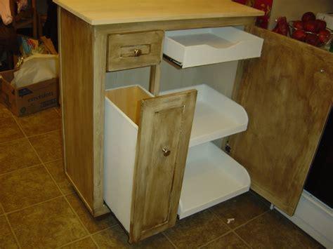 kitchen unfinished wood portable kitchen island tremendous portable kitchen island with trash bin also