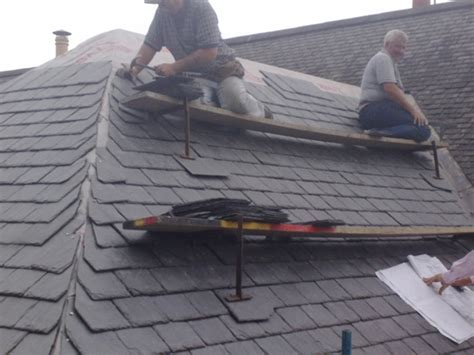 Hipped Tiled Roof Slate Hipped Roof Ridge Edinburgh