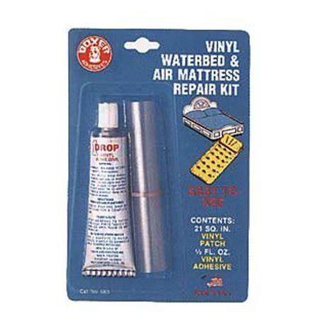 vinyl waterbed and air mattress repair kit adhesive plus of patching