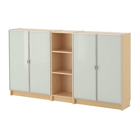 bookcase billy ikea morliden