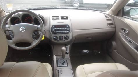 nissan altima interior 2011 2002 nissan altima gold stock k1309011 interior