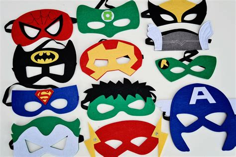 Topeng Green Lantern china factory price deluxe felt mask wholesale