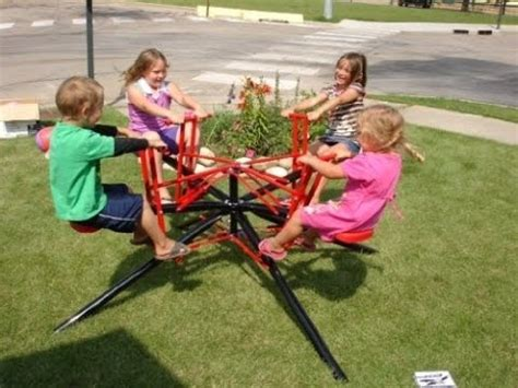 backyard merry go round the merry go round backyard fun youtube