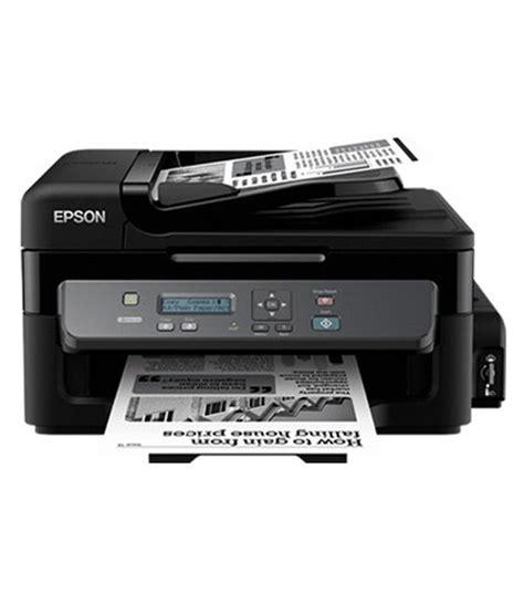 Printer Epson M200 Epson M200 Mono B W Print Only All In One Ink Tank Printer Buy Epson M200 Mono B W Print