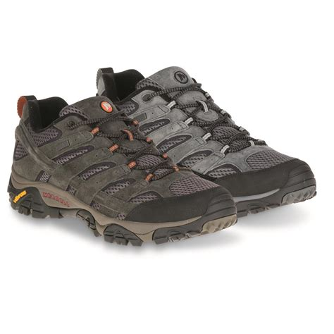 best waterproof hiking boots merrell s moab 2 waterproof hiking shoes 690255
