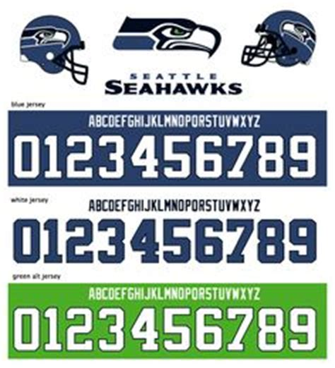 Seattle Number Search Font For Seahawk 12 Search Go Hawks Fonts Fonts