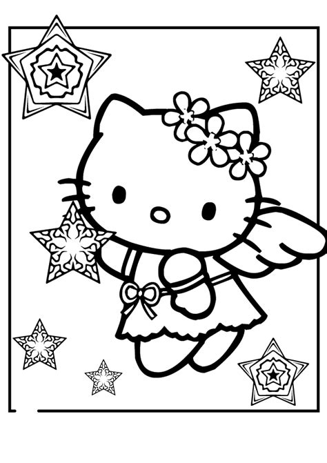 coloring pages hello kitty baby baby hello kitty coloring pages timeless miracle com